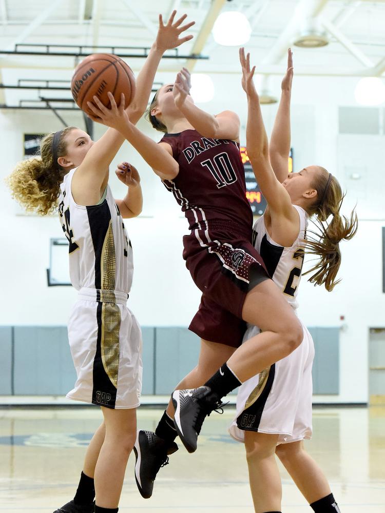 Stuarts Draft at Buffalo Gap girls basketball