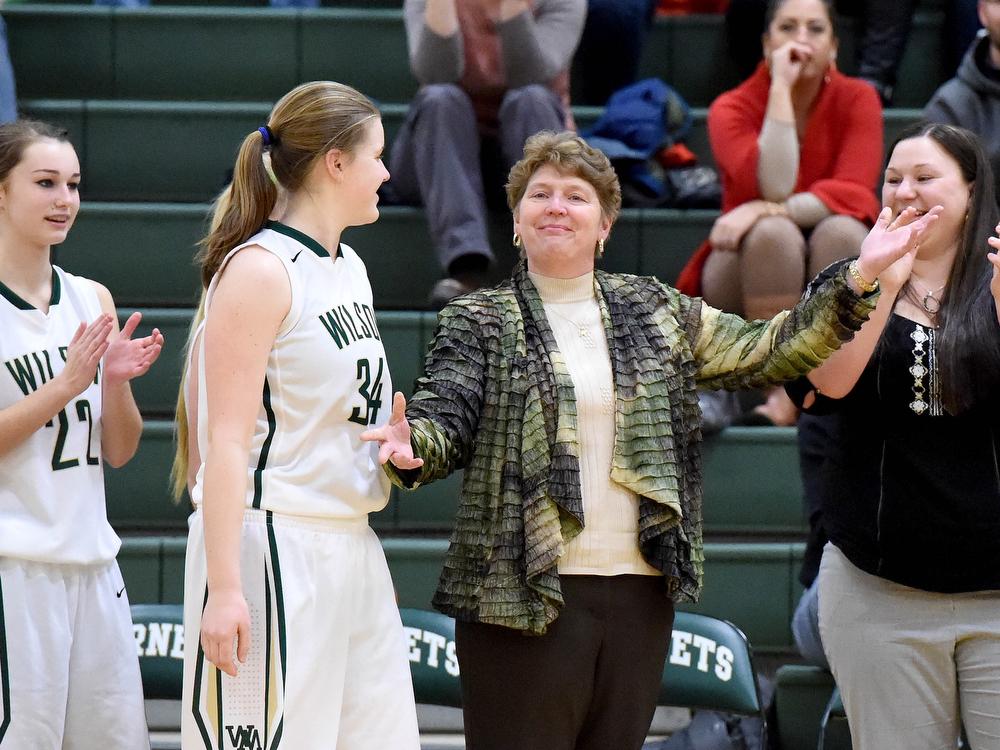 Fort Defiance at Wilson Memorial girls basketball